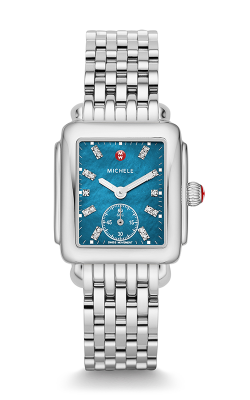 Michele Deco Mid, Teal Diamond Dial Watch MW06V00A0029 MS16DM235009 product image