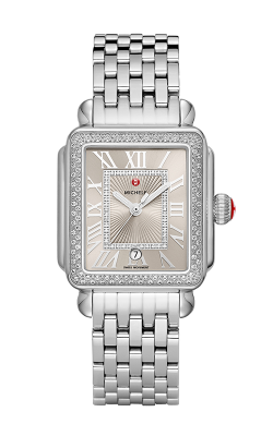 Michele Deco Madison Stainless Steel Cashmere Diamond Watch MW06T01A1113 MS18AU235009 product image