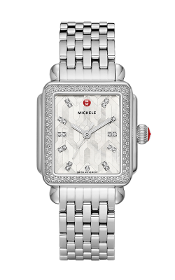 Michele Deco Stainless Steel Mosaic Diamond Watch MW06T01A1112_MS18AU235009