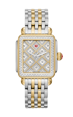 Michele Deco Two-tone Diamond Grid Diamond Watch MW06T01C5110_MS18AU285048