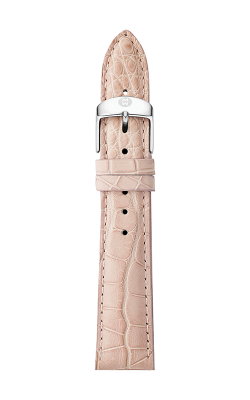 Michele 18mm Blush Alligator Strap MS18AA010429