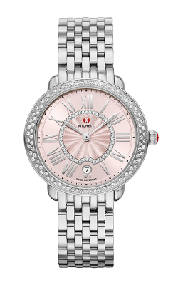 Serein Mid Stainless-Steel Blush Diamond Watch MW21B01A1115_MS16DH235009