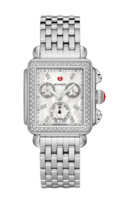 Michele Signature Deco Diamond, Diamond Dial Watch MW06P01A1046_MS18AU235009