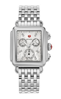 Michele Signature Deco Non-diamond, Diamond Dial Watch MW06P00A0046_MS18AU235009 product image