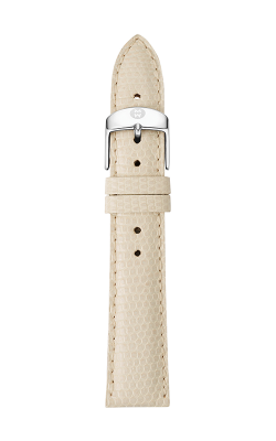 Michele 16mm Vanilla Lizard Strap MS16AA030120