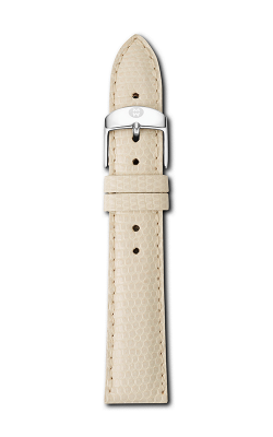 Michele 18mm Vanilla Lizard Strap MS18AA030120