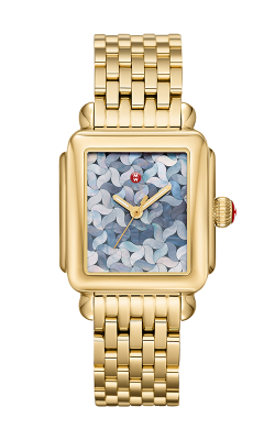 Michele Deco Gold Mosaic Dial Watch MW06T00A9125_MS18AU246710 product image