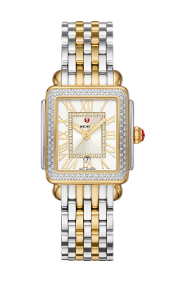 Michele Deco Madison Mid Two-Tone Diamond Watch MW06G01C5018 MS16DM285048 product image