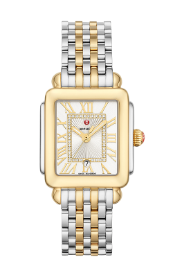 Michele Deco Madison Mid Two-Tone Diamond Dial Watch MW06G00C9120_MS16DM285048