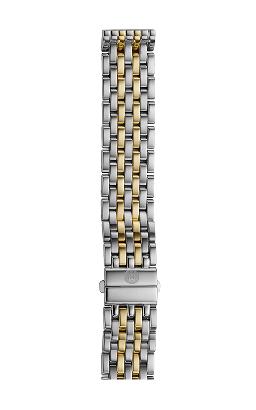 Michele 16mm Deco 16 7-Link Two-Tone Bracelet