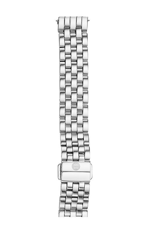 Michele 16mm Urban Mini 5-Link Stainless Steel Bracelet MS16AR235009