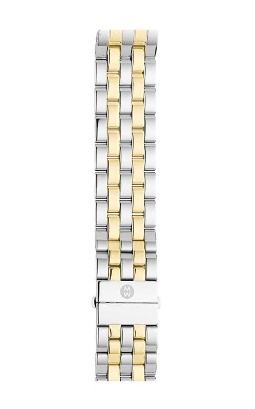 Michele 16mm Urban Mini 5-Link Two-Tone Bracelet MS16CM280009