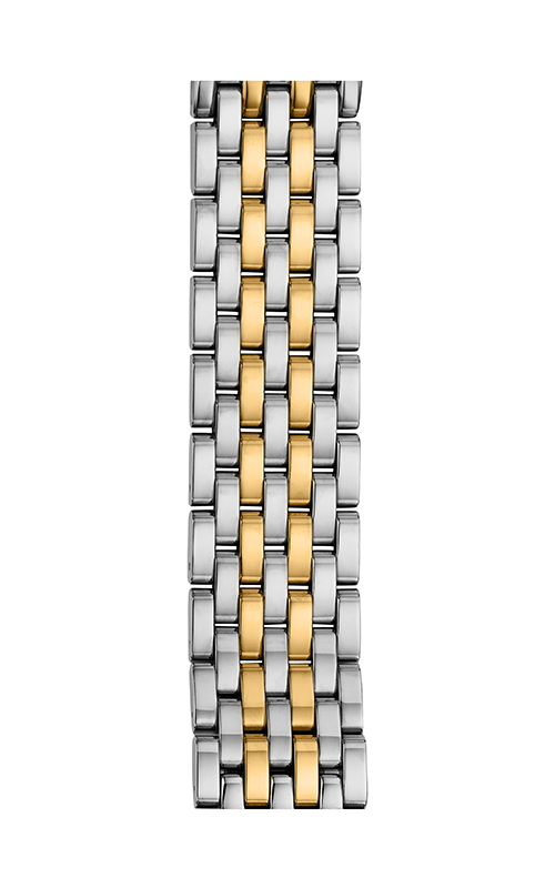 Michele 18mm Serein 7-Link Two-Tone Gold Bracelet MS18EV285048