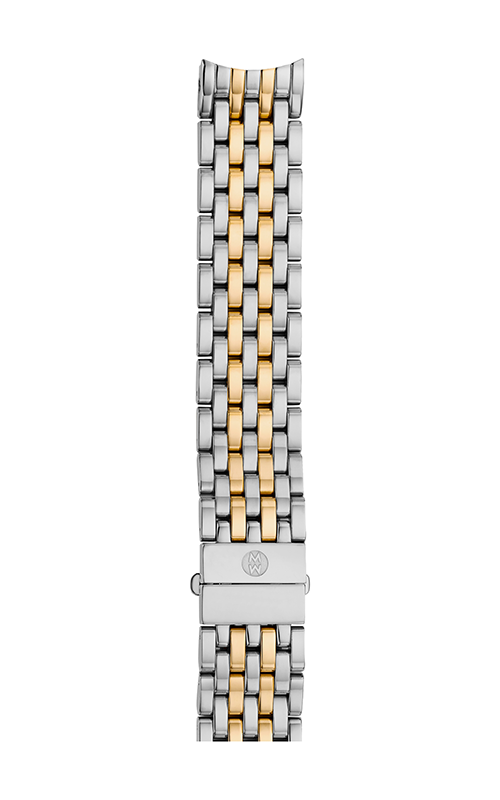 Michele 16mm Serein Mid 7-Link Two-Tone Bracelet MS16DH285048