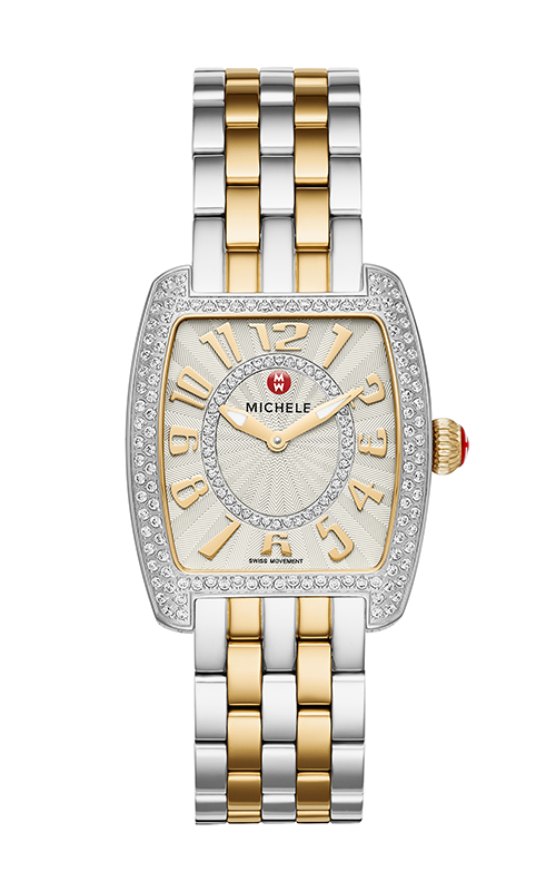 Michele Urban Mini Diamond Two Tone, Diamond Dial Watch MW02A01D1991_MS16CM280009