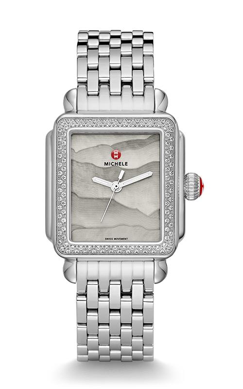 Michele Deco Diamond, Grey Gradient Dial Watch MW06T01A1105_MS18AU235009