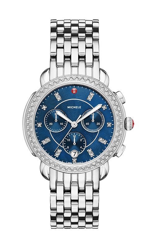 Michele Sidney Diamond, Navy Diamond Dial Watch MW30A01A1956_MS18GA235009
