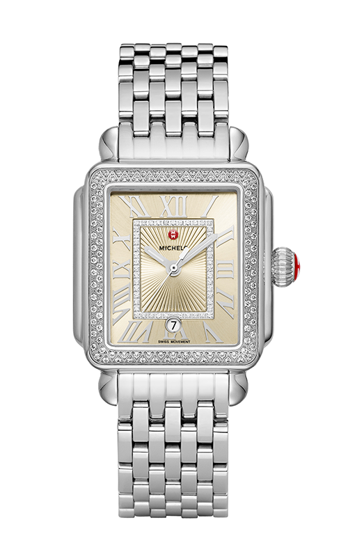 michele Deco Madison Stainless-Steel Champagne Diamond Watch MW06T01A1114_MS18AU235009