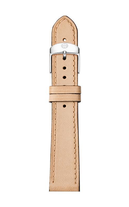 Michele 16mm Thin Tan Calfskin Strap MS16AA690231