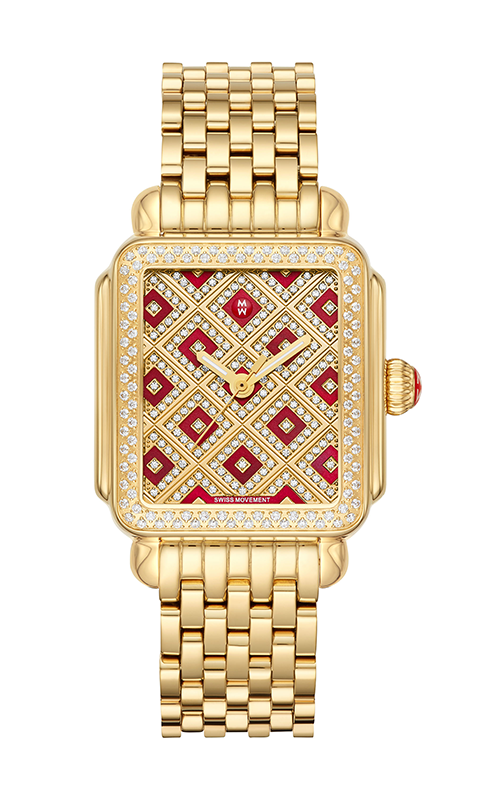 Michele Deco Château Gold Diamond Watch MW06T01B0137_MS18AU246710