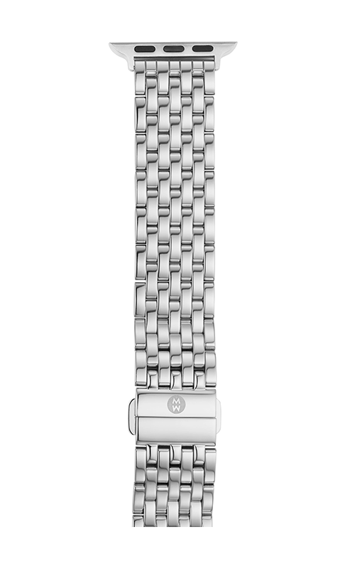 Michele 38mm 7-Link Stainless Steel Bracelet For Apple Watch MS38GC235009