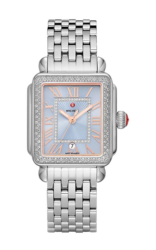 Michele Deco Madison Stainless Diamond Watch MW06T01A1145_MS18AU235009