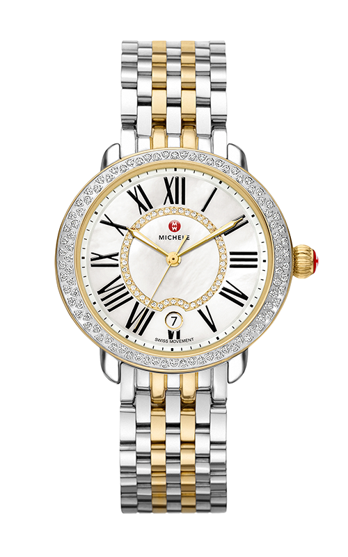 Michele Serein Mid Two-Tone Diamond, Diamond Dial Watch MW21B01C5963_MS16DH285048 product image
