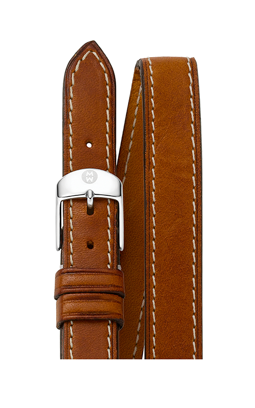 Michele 16mm Saddle Calf Skin Double Wrap Strap product image