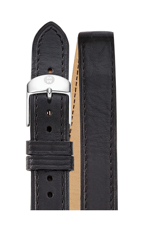 Michele 18MM Black Double Wrap Strap MS18BX270004 product image