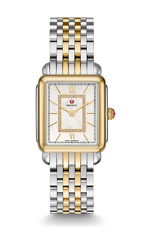 Michele Deco II Mid Two-tone Diamond Watch MW06I00C9963_MS16FT285048 product image