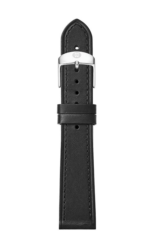Michele 16mm Thin Black Calfskin Strap MS16AA690001 product image