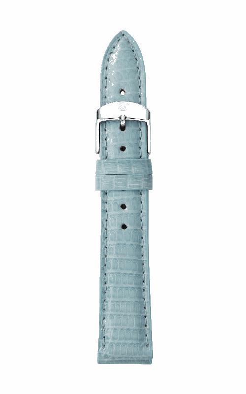 Michele 16mm Blue Smoke Lizard Strap MS16AA030477 product image