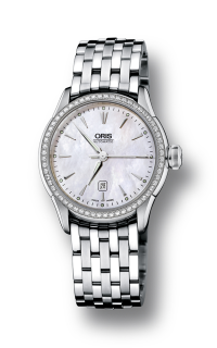 Oris Artelier Date Diamonds 01 561 7604 4956-07 8 16 73