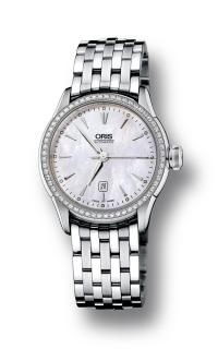 Oris Artelier Date Diamonds 01 561 7604 4956-07 8 16 73