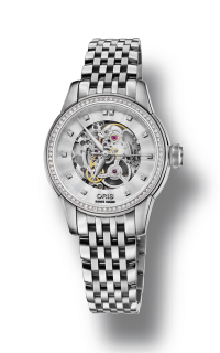 Oris Artelier Skeleton Diamonds 01 560 7687 4919-07 8 14 77