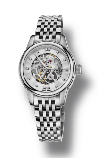 Oris Artelier Skeleton Diamonds 01 560 7687 4019-07 8 14 77