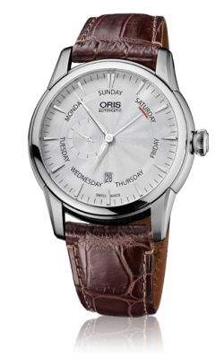 Oris Artelier Small Second, Pointer Day 01 745 7666 4051-07 1 23 73FC product image