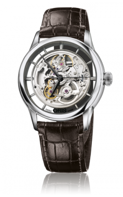 Oris Artelier Translucent Skeleton Watch 01 734 7684 4051-07 1 21 73FC product image