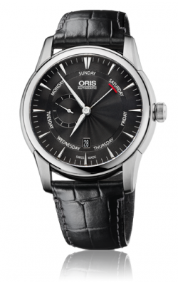 Oris Artelier Small Second, Pointer Day 01 745 7666 4054-07 1 23 74FC product image
