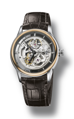 Oris Artelier Translucent Skeleton Watch 01 734 7684 6351-07 1 21 73FC product image