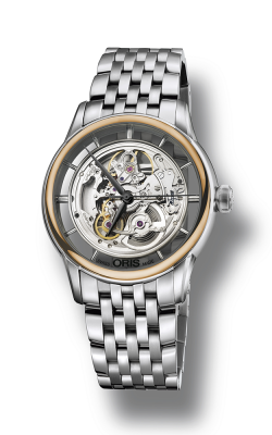 Oris Artelier Translucent Skeleton Watch 01 734 7684 6351-07 8 21 77 product image