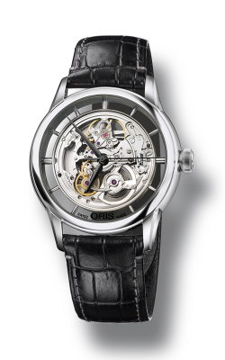 Oris Artelier Translucent Skeleton Watch 01 734 7684 4051-07 5 21 71FC product image