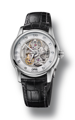 Oris Artelier Skeleton Diamonds 01 734 7670 4019-07 5 21 71FC