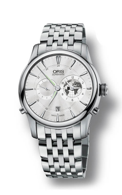 Oris Culture Artelier Greenwich Mean Time Limited Edition Watch 01 690 7690 4081-Set MB product image