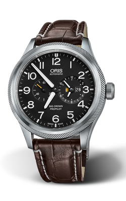 Oris World Timer 690 7735 4164 1 22 72 FC product image