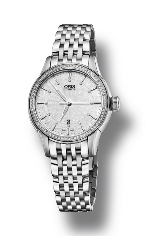 Oris Artelier Date Diamonds 01 561 7687 4951-07 8 14 77
