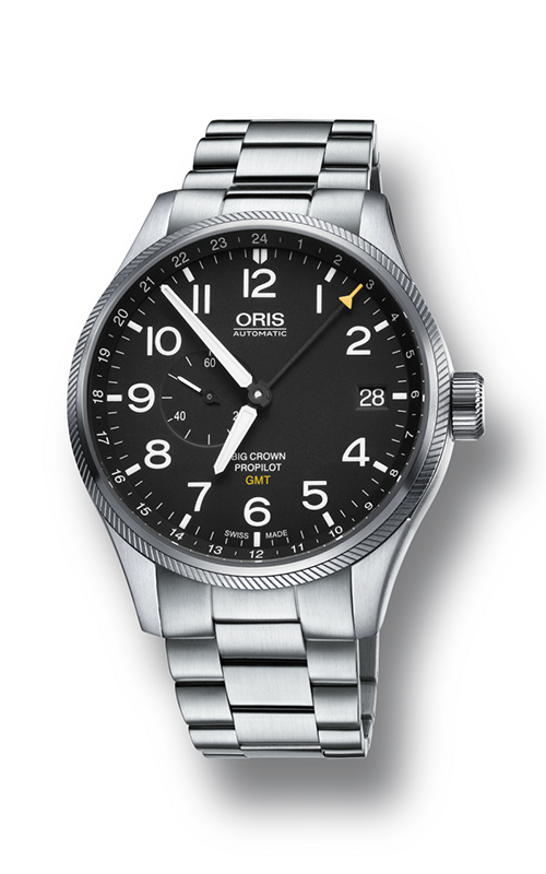 Oris GMT, Small Second 01 748 7710 4164-07 8 22 19