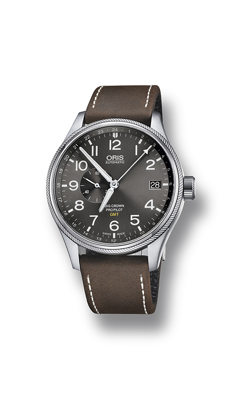 Oris GMT, Small Second 01 748 7710 4063-07 5 22 05FC