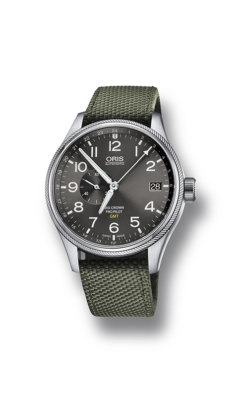 Oris GMT, Small Second 01 748 7710 4063-07 5 22 14FC