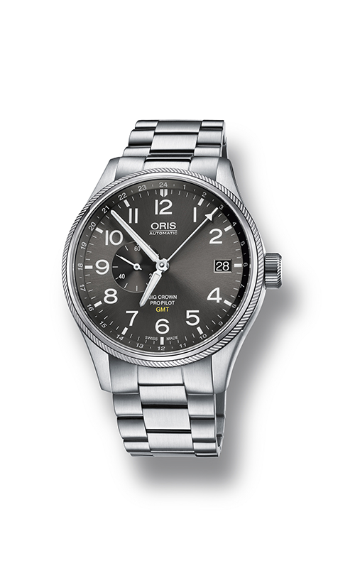 Oris GMT, Small Second 01 748 7710 4063-07 8 22 19